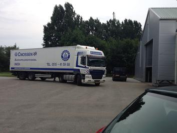 Vrachtwagen van aardappelgroothandel Cnossen
